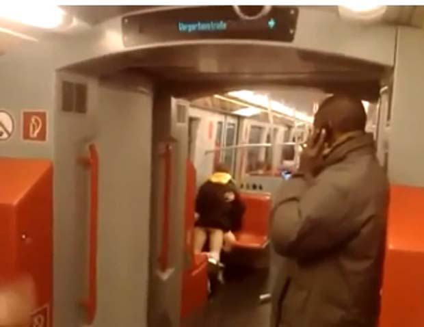 Casal é filmado fazendo sexo em metrô na Áustria